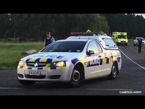 Four Police Officers Shot In Kawerau
