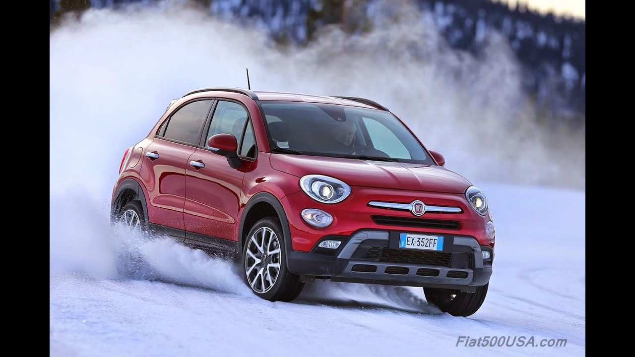 Fiat in the snow