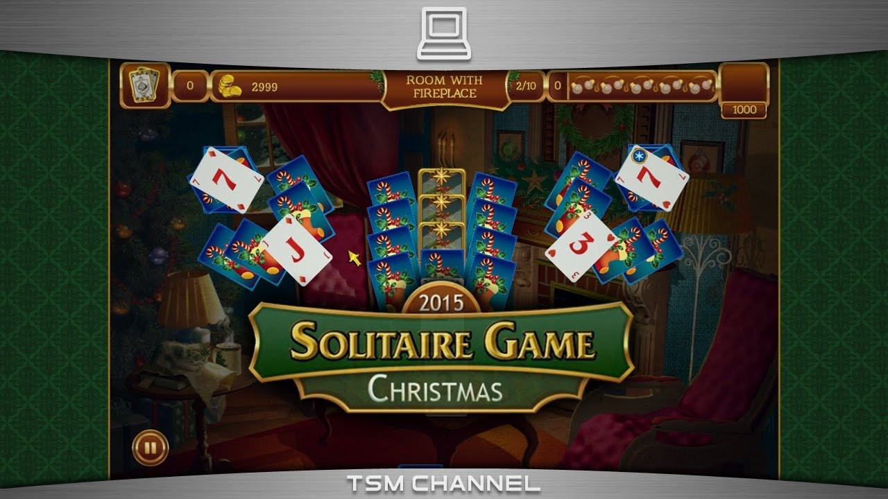 solitaire game christmas 2015