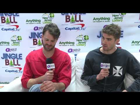 The Chainsmokers talk about going home to NJ for the Holidays (Interview)