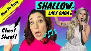 How To Sing Shallow by Lady Gaga A Star Is Born Video