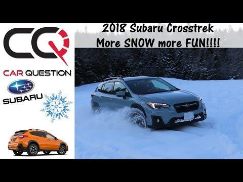 2018-2019 Subaru CROSSTREK | X-MODE: Fun in the SNOW and ICE | Review Part 5/7