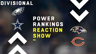 NFL Power Rankings Show: Divisional Round