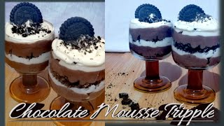 Chocolate Mousse Tripple in a cup | Eggles | Sobrang sarap promise