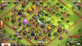CLASH OF CLANS Lindo botin :D By LagCoC_Garcia
