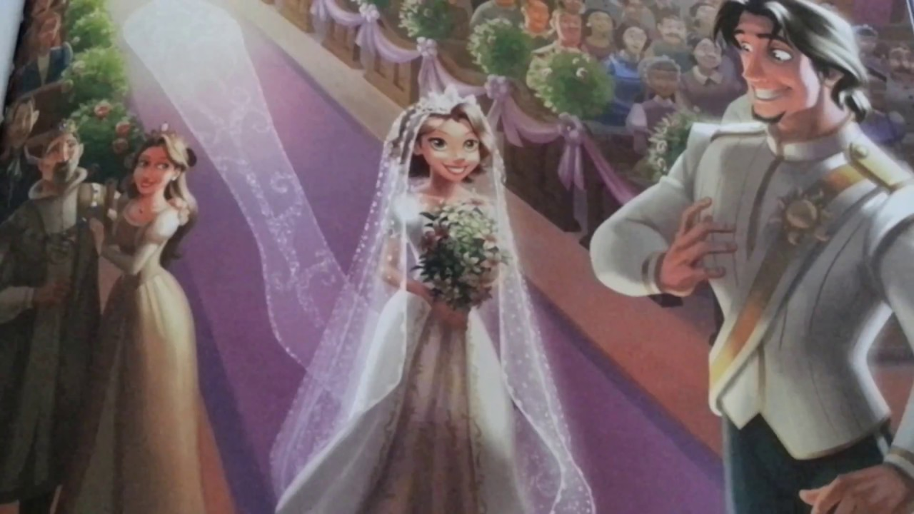 disney princesses rapunzels royal wedding read aloud