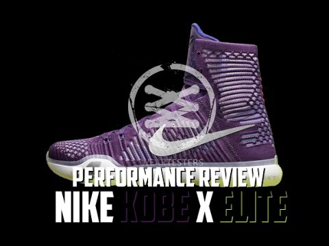 Nike Kobe X (10) Elite Performance Review