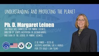#CharlaGLOBE Understanding and protecting the planet - Dra. Margaret Leinen