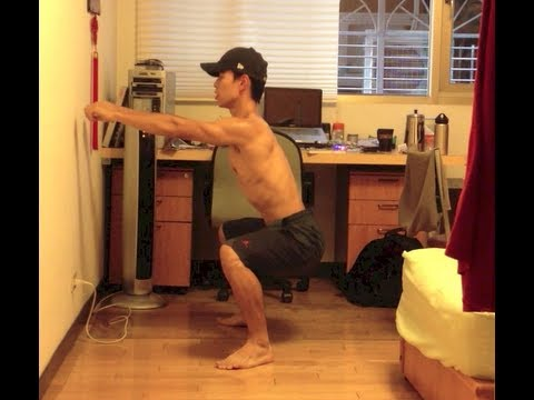 在家健身基礎動作#1/6:深蹲SQUAT