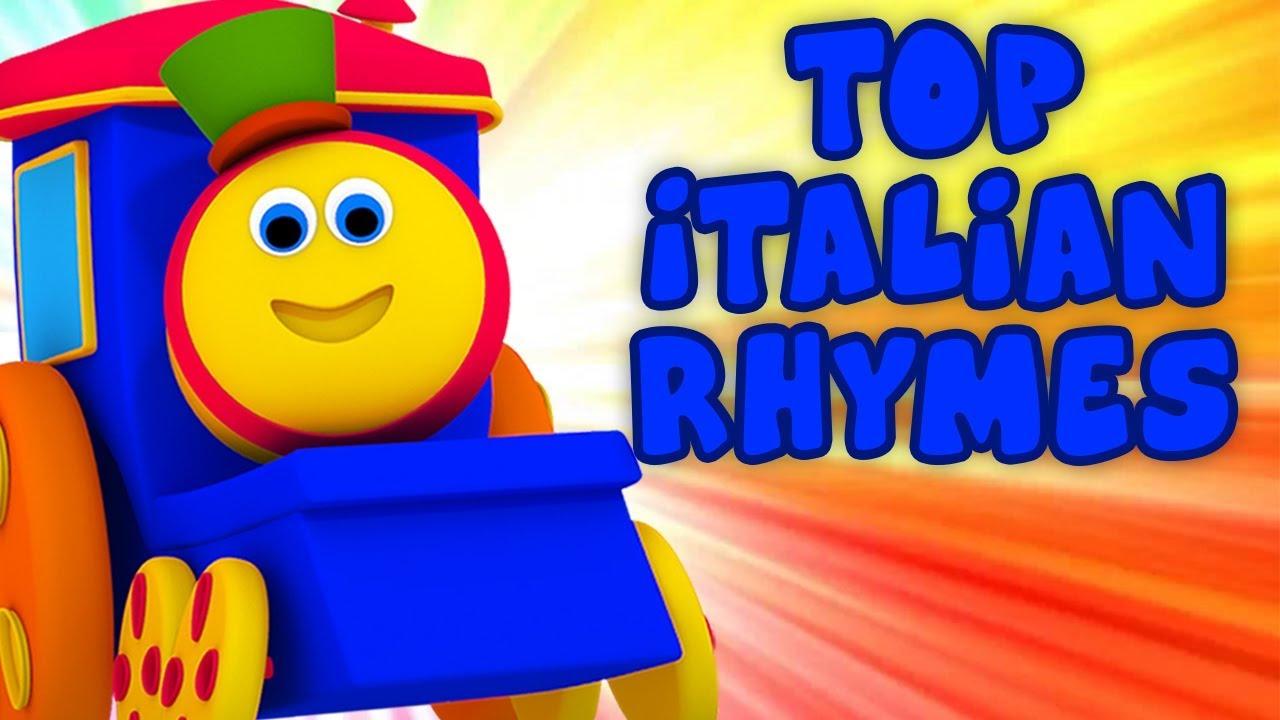 le migliori filastrocche | Top Italian Rhymes | rime in italiano | Bob The  Train Italiano