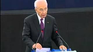 Address by President Shimon Peres to the European Parliament
