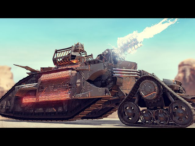 Crossout - This KAIJU Build Let Me Have The Most INTENSE Match Ever