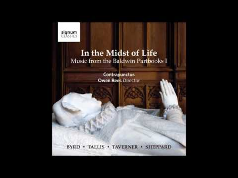 In the Midst of Life. Music from the Baldwin Partbooks I - Contrapunctus, Owen Rees (Audio video)
