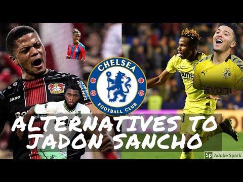 ALTERNATIVES TO JADON SANCHO | CHELSEA TRANSFER NEWS