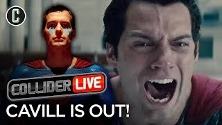 Henry Cavill Out as Superman! What Does It Mean for DC? - Collider Live #11