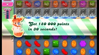 Candy Crush Saga Level 1602 walkthrough (no boosters)