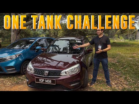 Proton Saga 2019: How Far Can You Drive With A Single Tank Of Fuel?