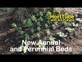 New Annual and Perennial Flower Planting