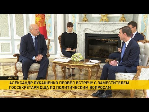 Отношения США и Беларуси. О чем еще говорили Лукашенко и Хейл?