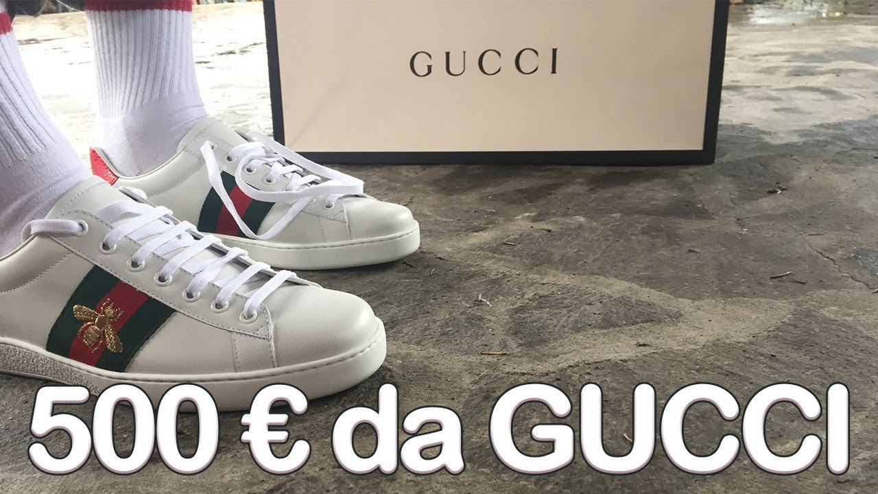 0105b56dac 500€ da Gucci: Unboxing & Commento GUCCI ACE PATCH - YouTube