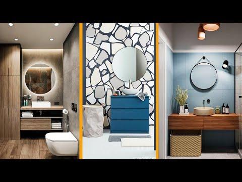 100 Modern Small Bathroom design ideas   Small bathroom tiles design   Interior Decor Designs