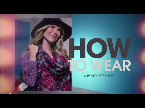 HSN   How To Wear The Wrap Dress. http://bit.ly/2Xc4EMY