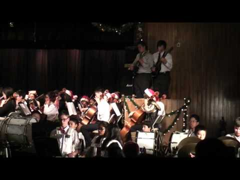 First Avenue Middle School - Winter Concert 12/17/2015 - Merry Gentlemen Along The Watchtower