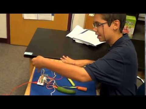 Quaid's Science Demonstration - Sonoran Science Academy Davis-Monthan