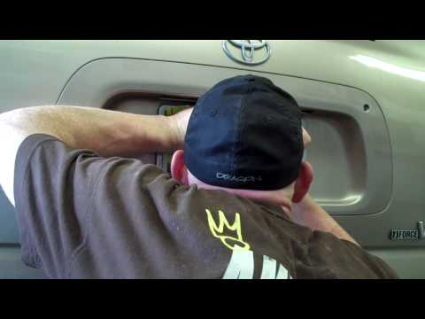 Toyota Sequoia Rear Gate Handle Replacement