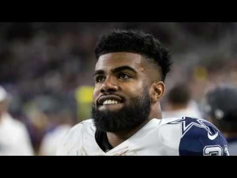 Dallas Cowboys RB Ezekiel Elliott suspended 6 games by the NFL