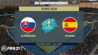 FIFA 21, EURO 2020 • Slovacchia vs Spagna