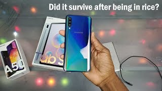 The Samsung Galaxy A50... AFTER the Soap & Water Test