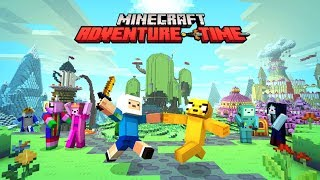 Minecraft - Adventure Time Gameplay Part 1 - Finn vs Enderman (Minecraft Lets Play)