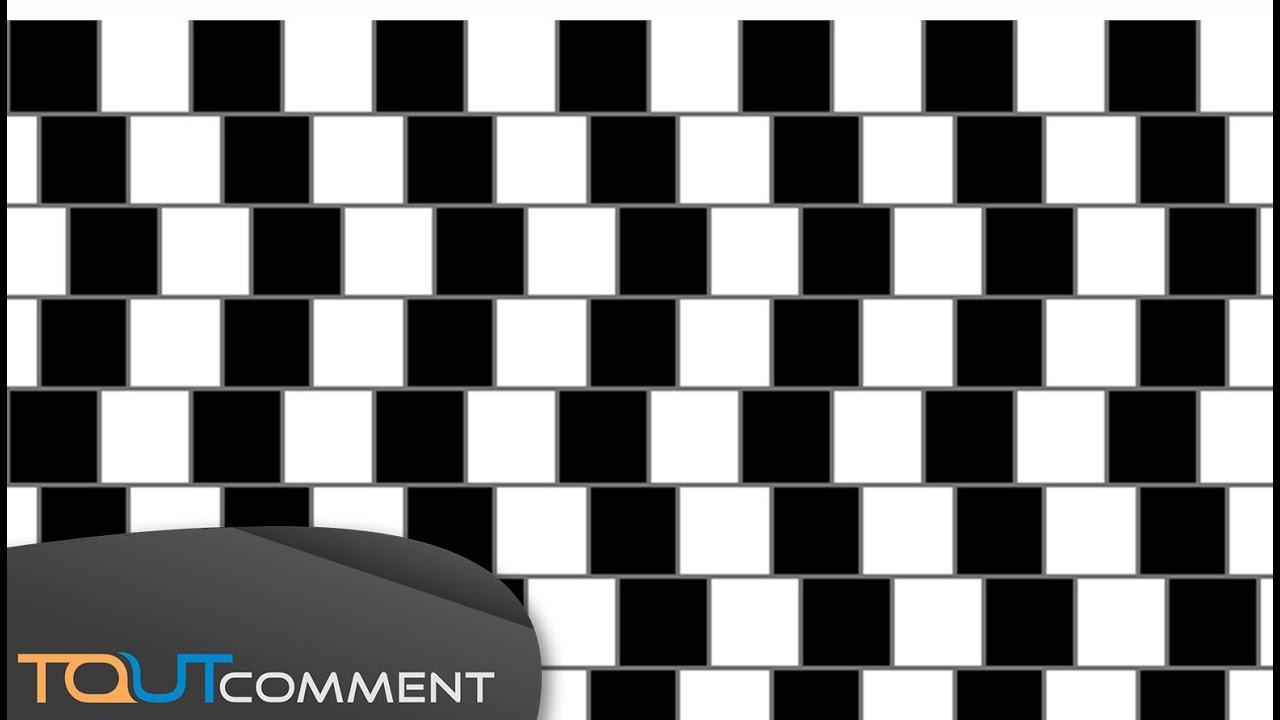 illusions d optique bluffantes youtube. Black Bedroom Furniture Sets. Home Design Ideas