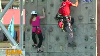 Wall Climbing Adventure At Rainforest Pasig City