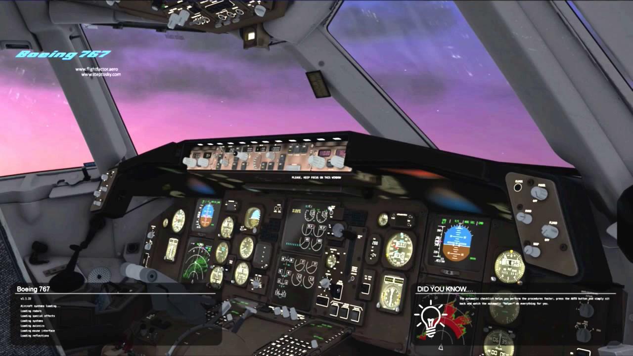 X-Plane 11 767 Flight Factor