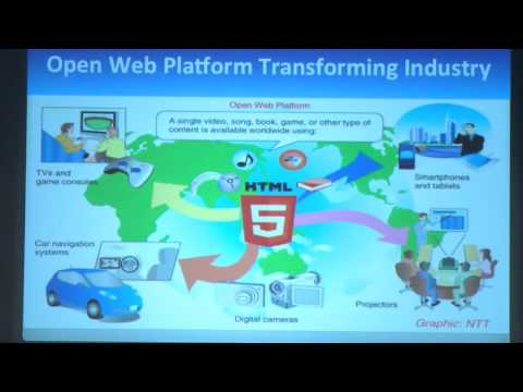 Jeff Jaffe, W3C - Driving Adoption of Open Web Standards (10/13/2015)