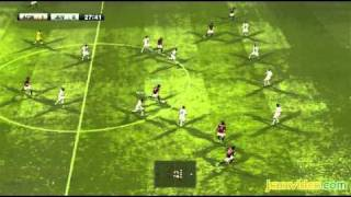 PES 2011 PS3 final version ACM vs JUV