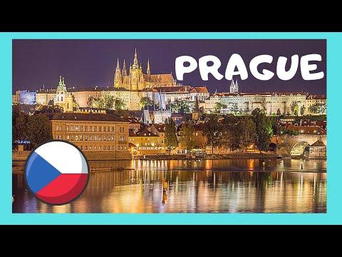 A walking tour of historic Prague (Czech Republic)