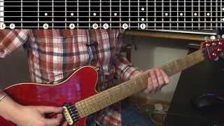 Теория для гитаристов. Урок 1. Лад, тональность, построение гамм.