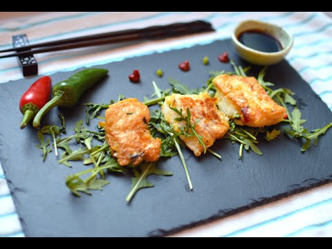 Cod Fish Pancake with Phillips AirFryer Recipe 대구전