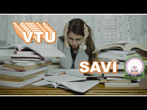 SAVI - Free Educational Channel for Engineering Students (SVIT - VTU)