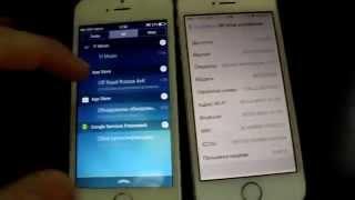 Сравнение Iphone 5s(fake) vs Iphone 5s original