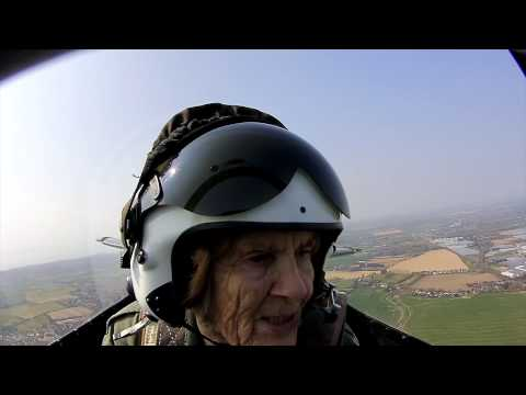 92-year-old World War Two veteran flies Spitfire again