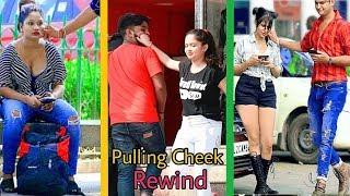 Pulling Strangers Cheek Rewind 2019 #Pulling #Cheek #Prank #Rewind 2019 #Sumit #Allahabad