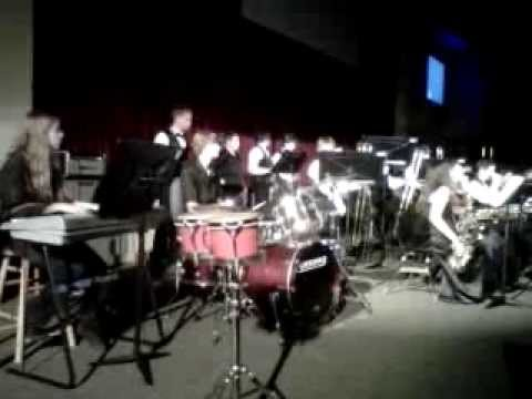 New Smyrna Beach High School  jazz band May 10th 2013 performance