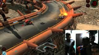 BlazeRush PC 4 Player Multiplayer Gameplay | 1080p