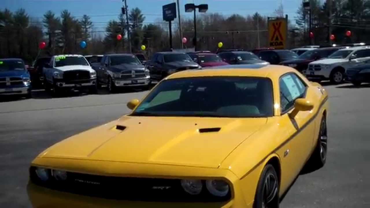 Best srt dealerships in maine 2012 dodge challenger yellow for Southern maine motors saco maine