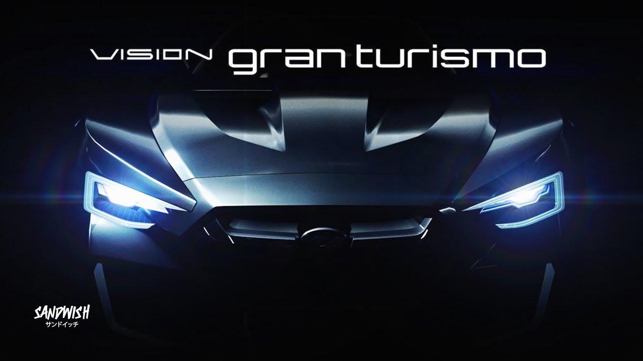ออกแบบรถจากปลาแห้ง!? - Subaru VIZIV GT [ Vision Gran Turismo ]