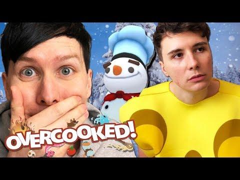 Download Youtube: MERRY CHEESEMAS from Dan! - Overcooked #3